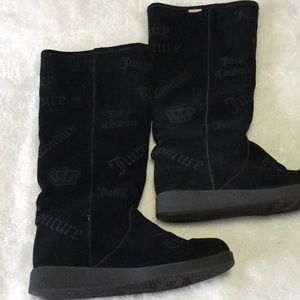 Juicy Couture Shearling suede boots